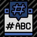 bubble, chat, communications, conversation, hashtag, speech