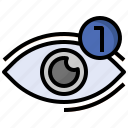 alert, alerts, eye, notifications, notify, view, views