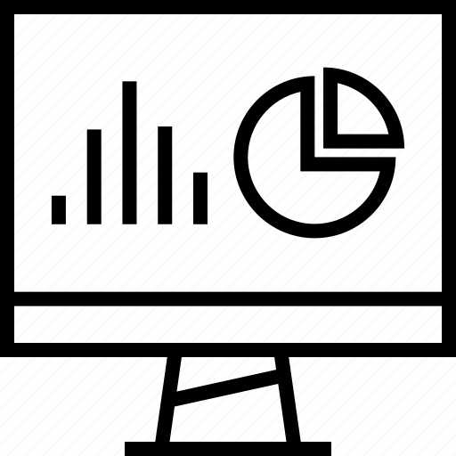 Graphic, chart, pie icon
