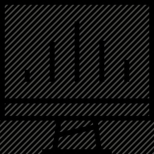 data, graphic, pac icon