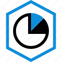 data, graphic, info, piechart icon