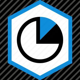 data, graphic, info, piechart icon