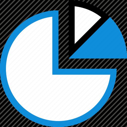 data, graphic, info, roundgraph icon