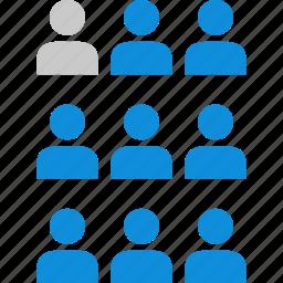 data, graphic, info, nine icon