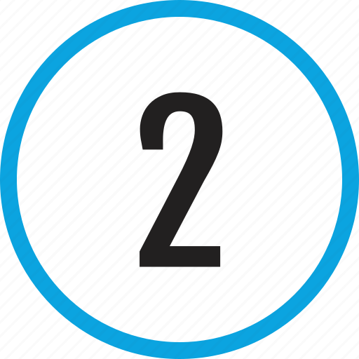 infographic, number, numbering, track, two, ui icon