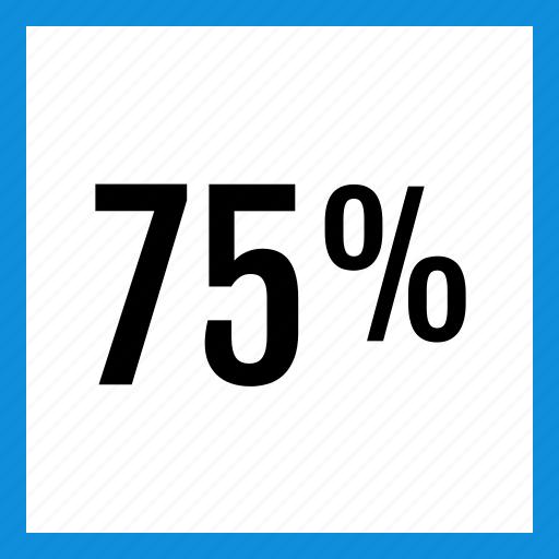 data, five, graphic, info, percent, seventy icon