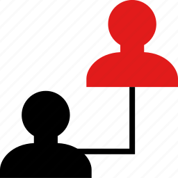 online, persona, web icon