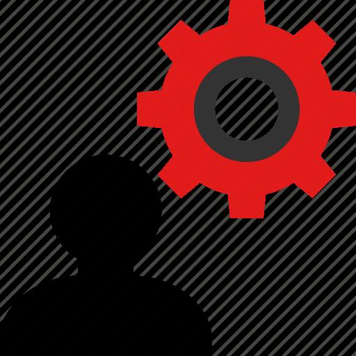 person, team, work icon