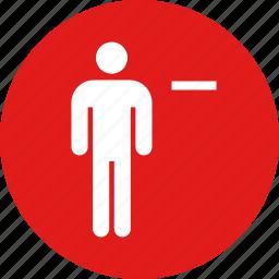person, persona, user, web icon