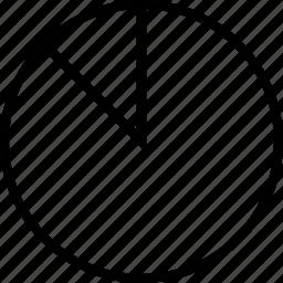 data, graphics, info, ninety, percent icon
