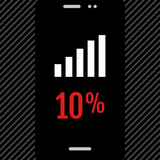 bars, data, graphic, info, ten icon