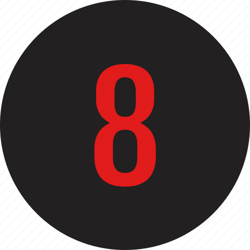 count, counting, eight, number icon