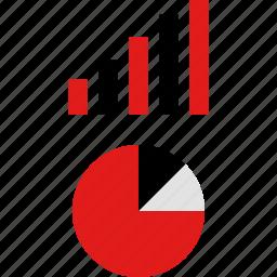 analytics, data, graph, graphic, info, report, seo icon