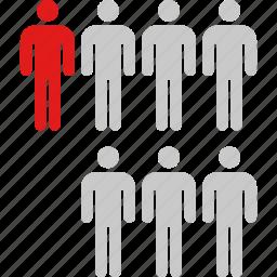data, graphic, info, seven, users icon