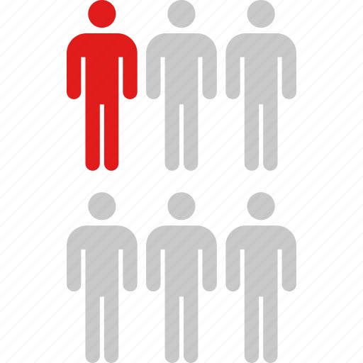 data, graphic, info, six, users icon