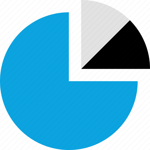 chart, data, divide, graphics, info, pie icon