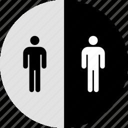 comparison, data, double, graphics, info, users icon