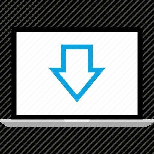 data, declinning, down, graphics, info icon