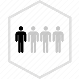data, four, graphics, info, users icon