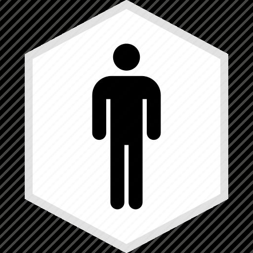 data, graphics, info, one, person icon