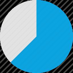 chart, data, graph, graphics, info, pie, report icon
