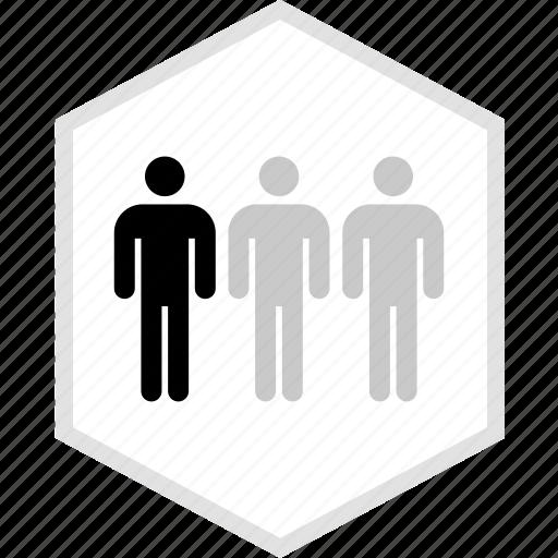 data, graphics, info, three, user icon