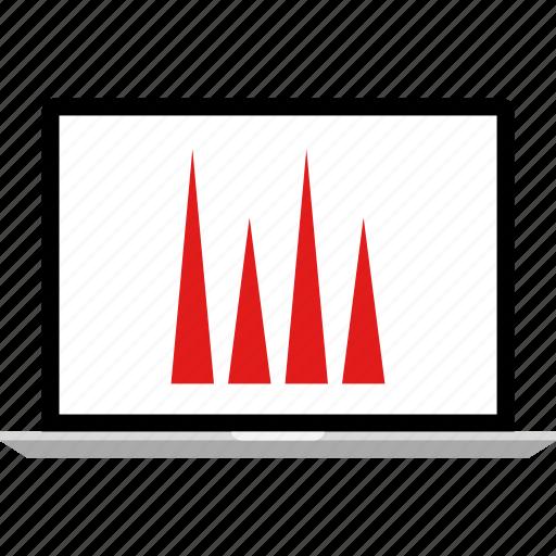 analytics, bars, data, graphic, info, seo icon