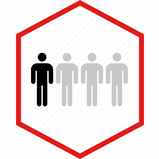 data, four, graphic, info, users icon