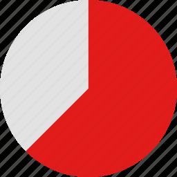 data, graphic, info, seventy icon