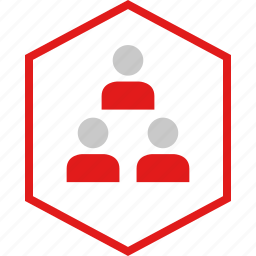 data, graphic, info, three, users icon