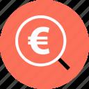 euro, save, savings icon