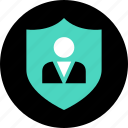 safe, secured, service icon