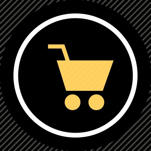 add, cart, go, shopping icon