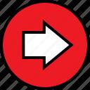 arrow, data, go, infographic, information, next, seo icon