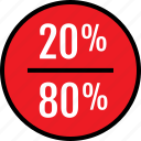 data, eighty, infographic, information, seo, twenty icon