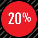 data, infographic, information, percent, rate, seo, twenty icon