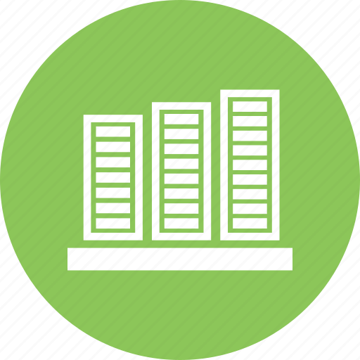 analytics, bar chart, bar graph, business graph, infographic icon