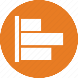 bar chart, bar graph, business graph icon