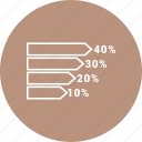 bar chart, business, graph icon