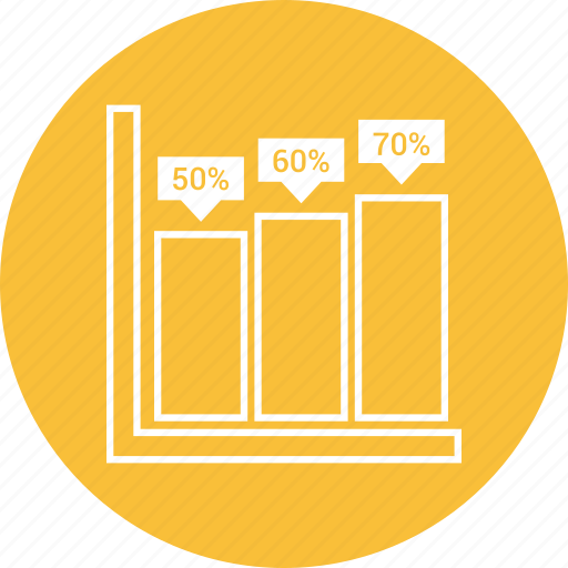 bar, chart, graph, statistics icon