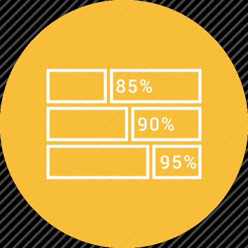 bar chart, business, graph icon