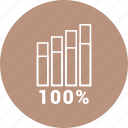 analytics, bar, chart, graph icon