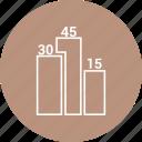 bar, business, chart, graph, growth