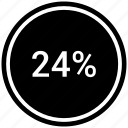 analysis, analyze, chart, circle, diagram icon