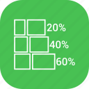 bar chart, bar graph, business growth, graph icon
