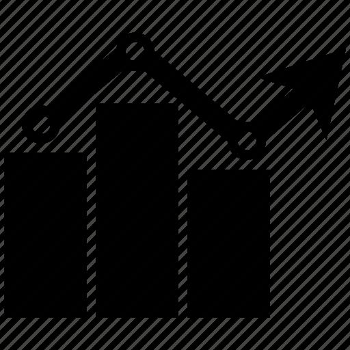 bar, bar chart, business, chart, graph, growth chart icon