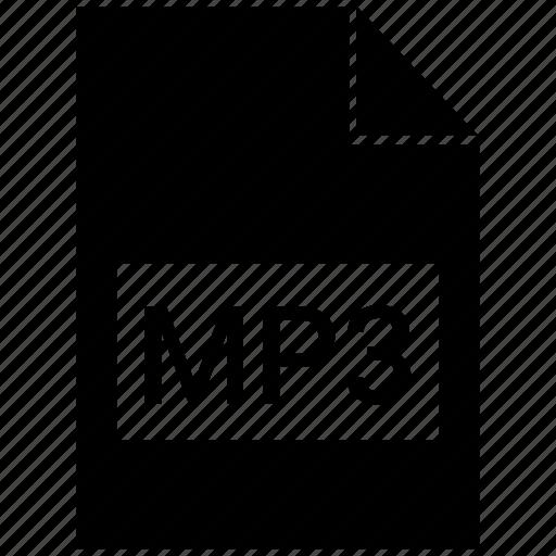 audio, file format, mp3 icon