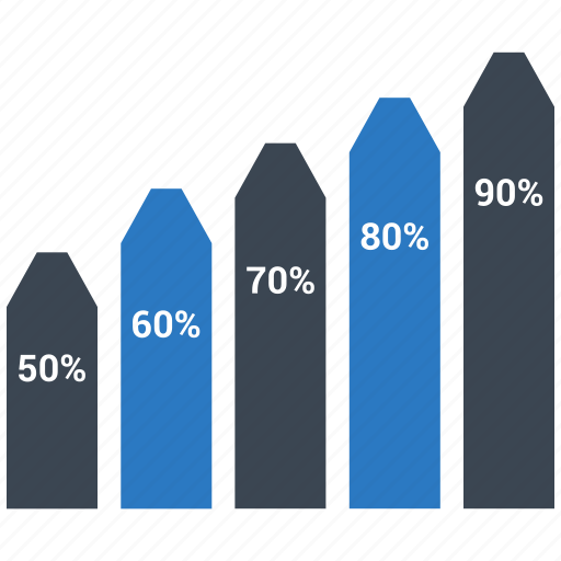 bar, graph, growth, report, statistic icon