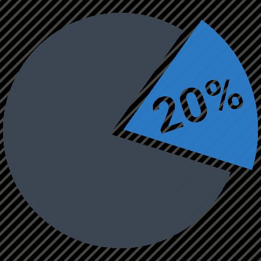 analytics, business, chart, finance, graph, pie, twenty icon