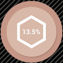 chart, diagram, graph, percent, percentage icon